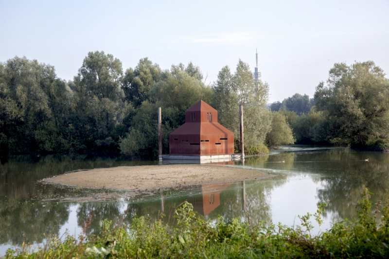 kijkhuis laag water
