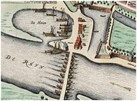 Hstorie - schipbrug 1650