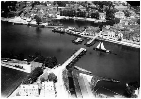 Historie - schipbrug nieuw